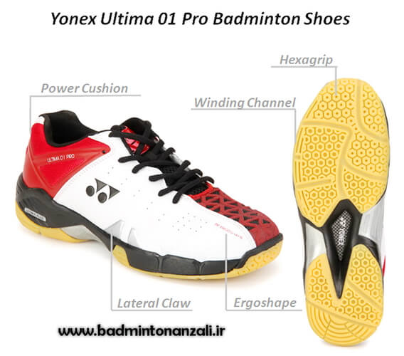 Yonex Ultima 01 Pro Badminton Shoes