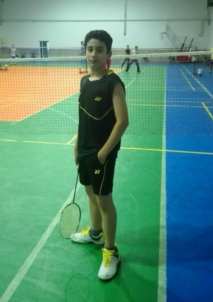 آرش شهیاز زاده ، نفر اول رده سنی نوجوانان