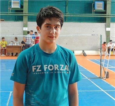 فیلم بازی امیر جباری در مسابقات جوانان جهان