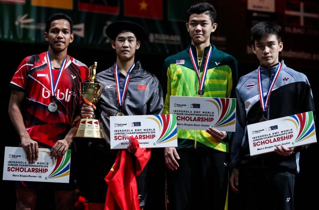 نفرات برتر انفرادی مردان در مسابقات قهرمانی جوانان جهان