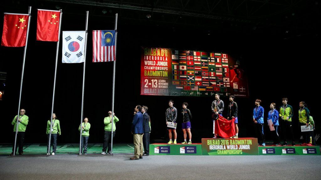 نفرات برتر دونفره میکس در مسابقات قهرمانی جوانان جهان