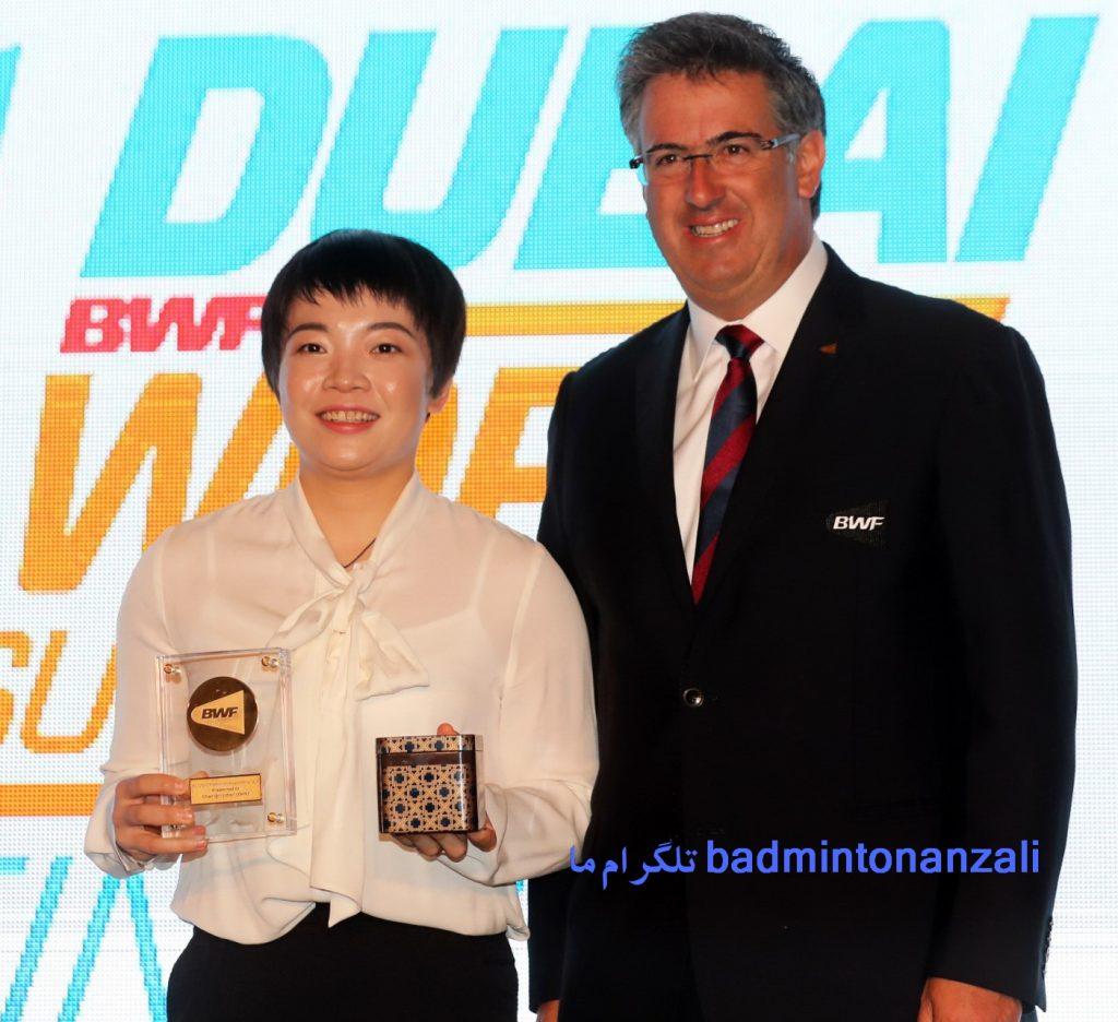چن قنگ چن از کشور چین ، پدیده جوان بدمینتون جهان