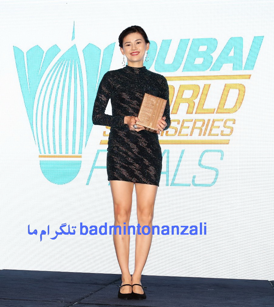 وون وی از مالزی ، خوش لباس ترین زن سال بدمینتون جهان