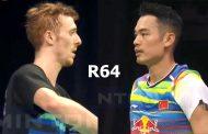 بازی اول لین دان در مسابقات قهرمانی جهان 2017